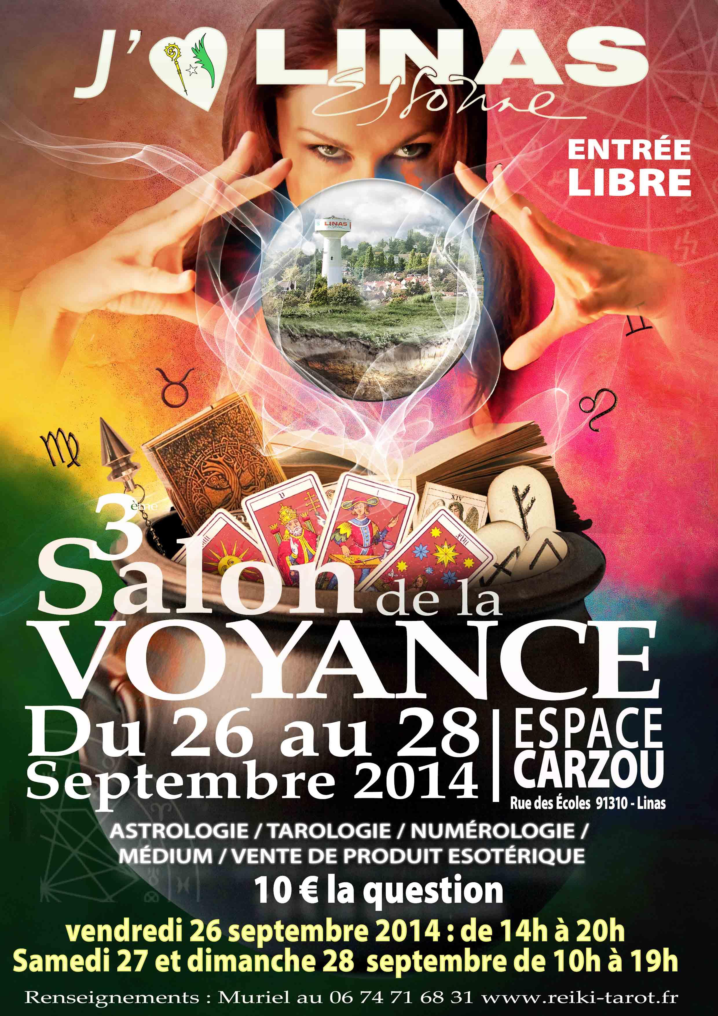 Ev nements for Salon de la voyance a paris